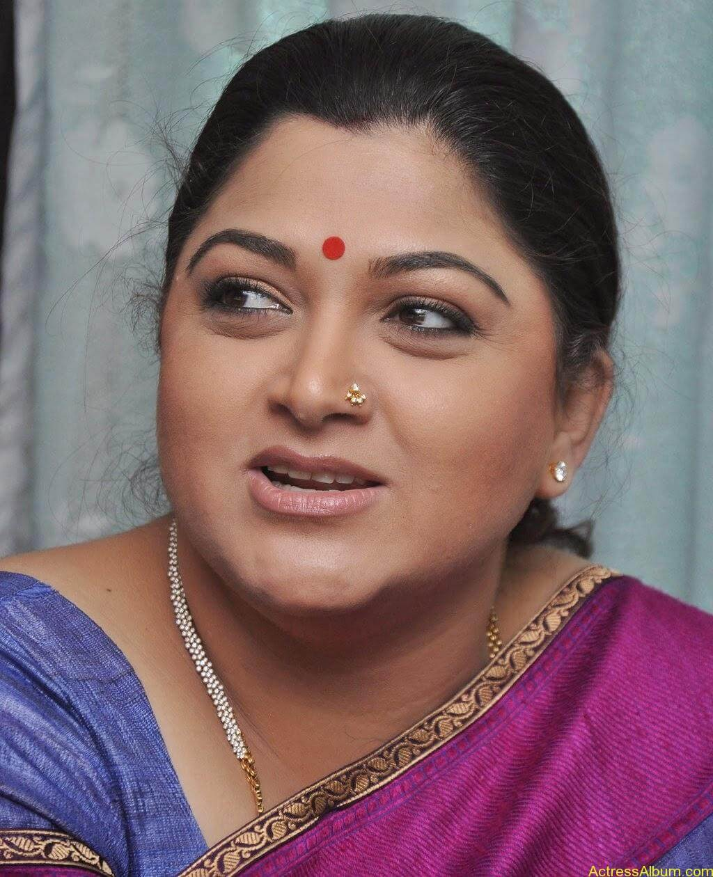 Kushboo Cute Saree Pics (2)