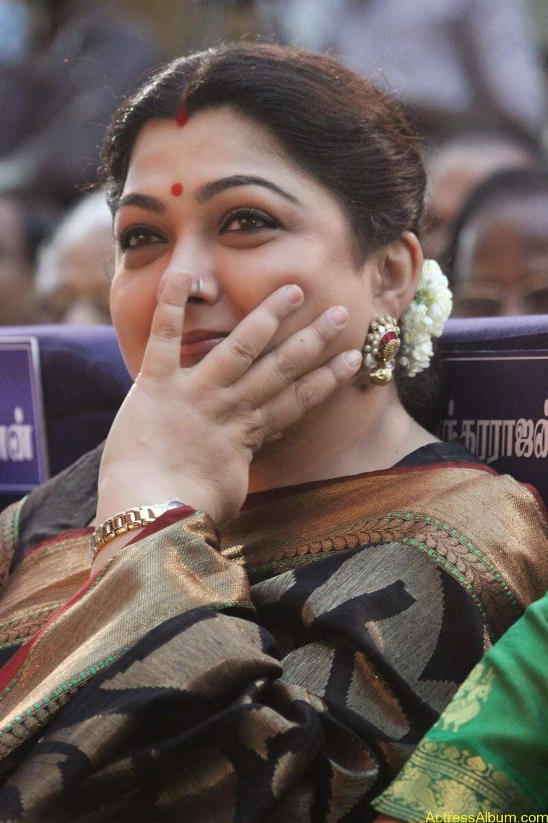 Khushboo Hot In Saree-9610