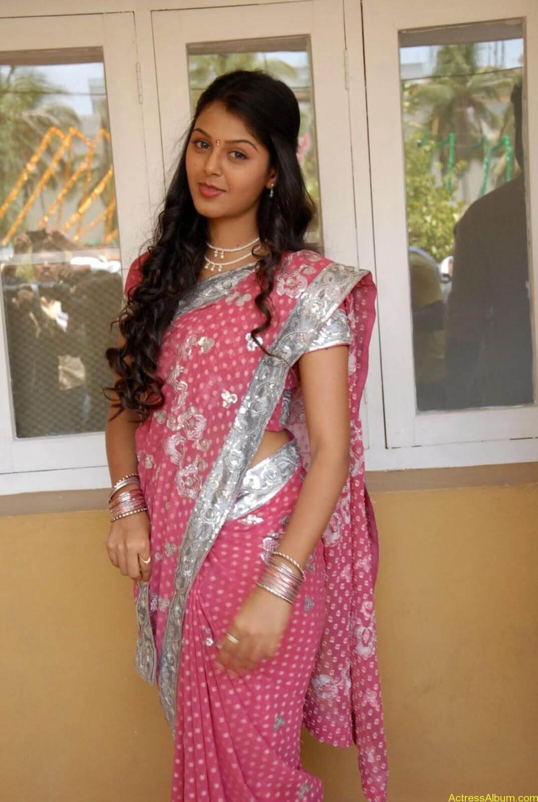 Monal gajjar Hot Saree Stills (10)