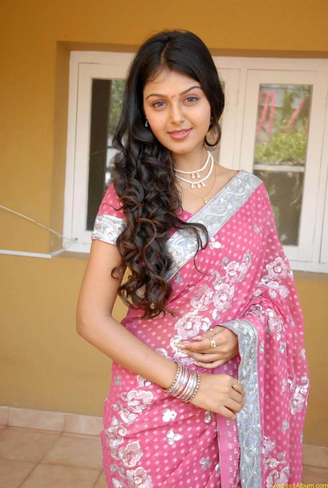 Monal gajjar Hot Saree Stills (11)