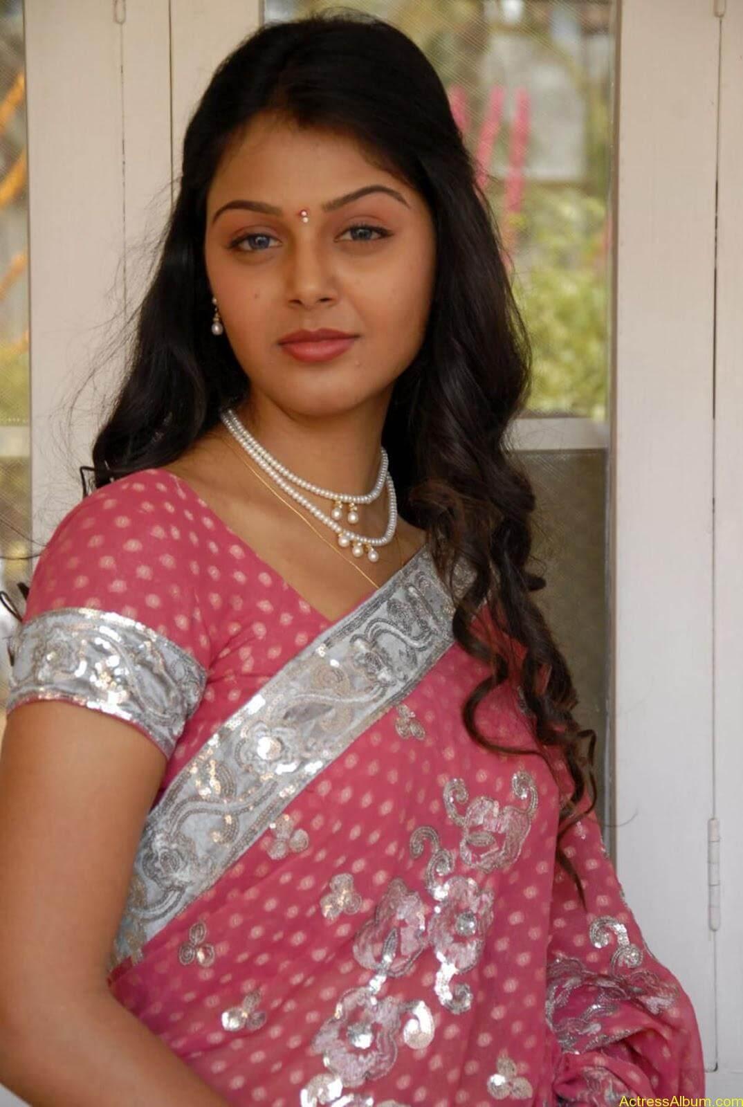 Monal gajjar Hot Saree Stills (4)