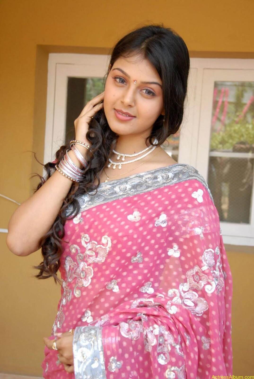 Monal gajjar Hot Saree Stills (8)