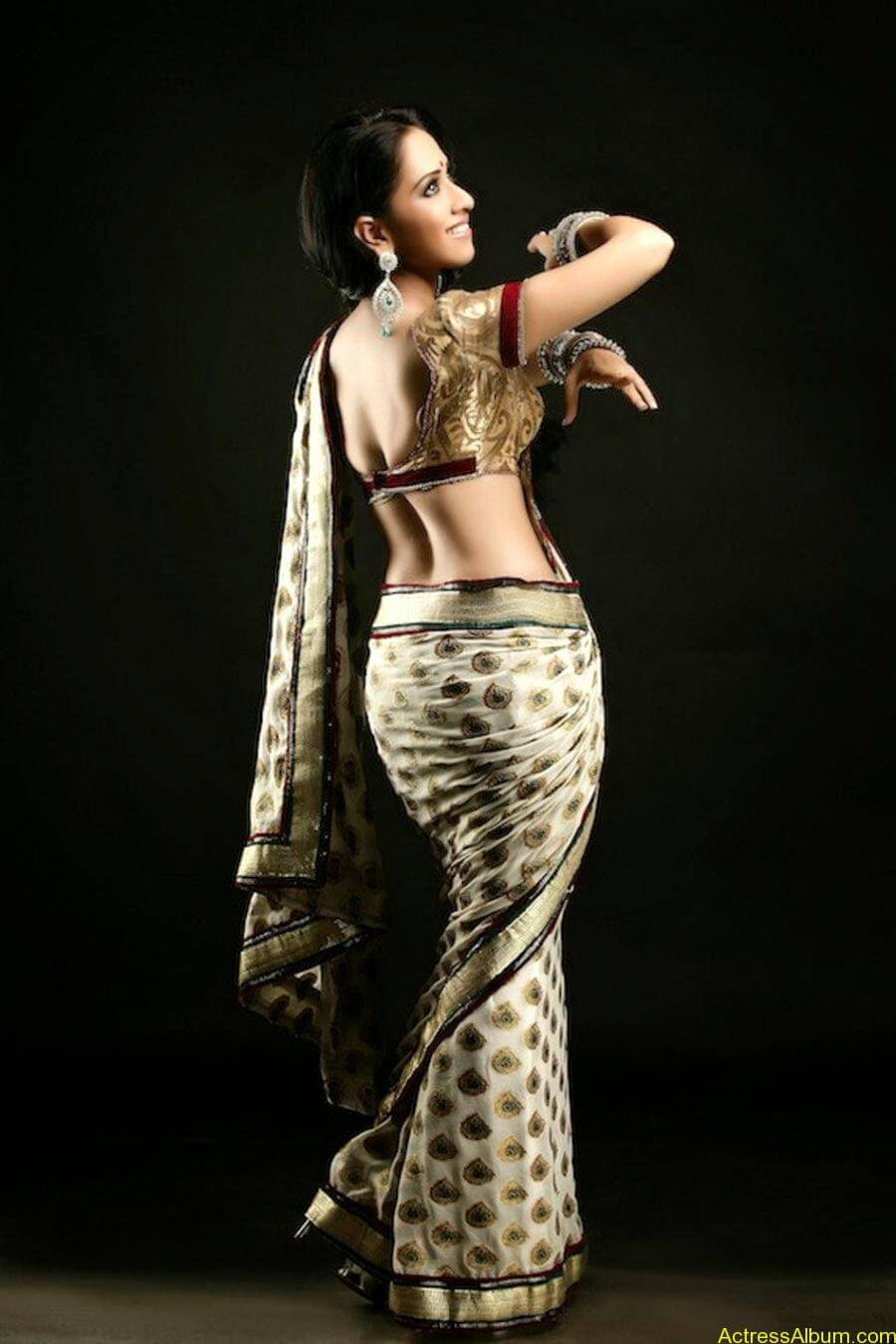 Monali sehgal saree photoshoot 1