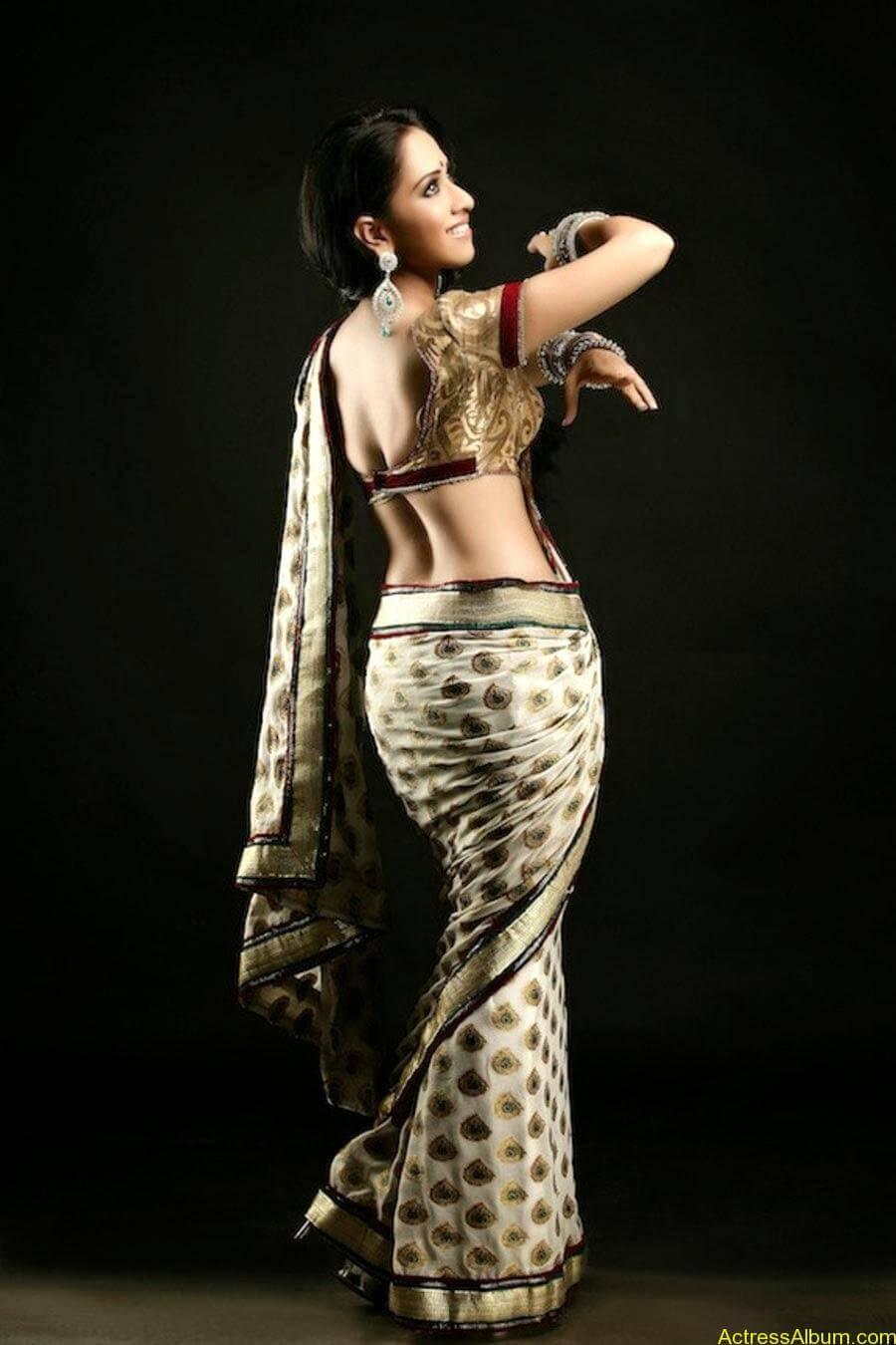 Monali sehgal saree photoshoot 1