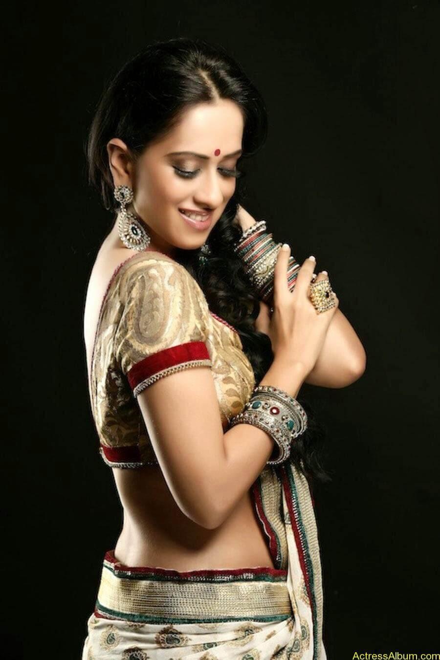 Monali sehgal saree photoshoot 2