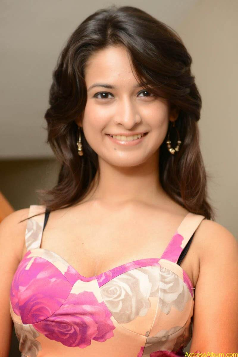 Mrudula Hot in Pink Dress6