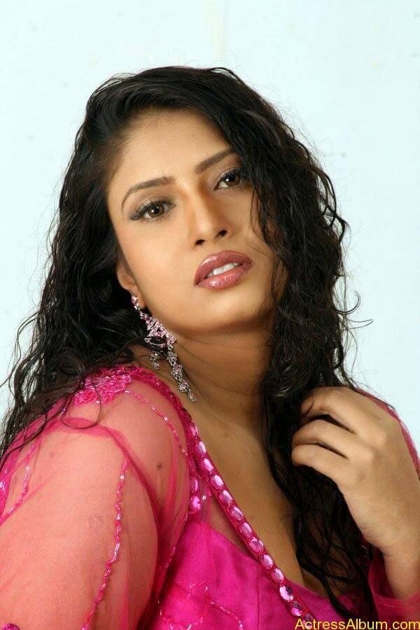 Sangavi Hot In Pink Dress (2)