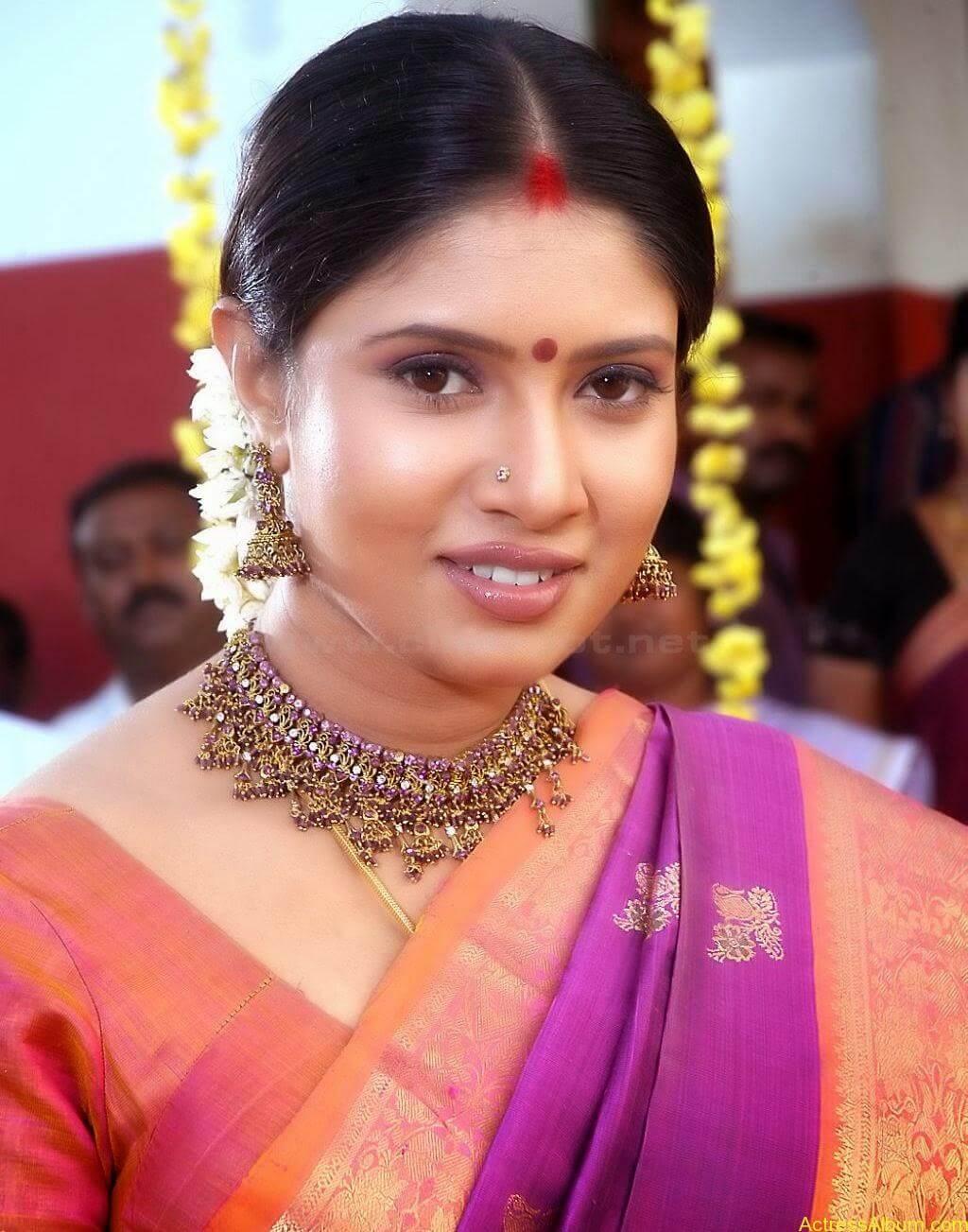 Sangavi Hot Pics In Sarees (10)