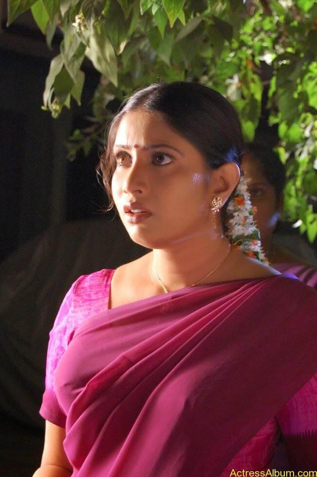 Sangavi Hot Pics In Sarees (23)