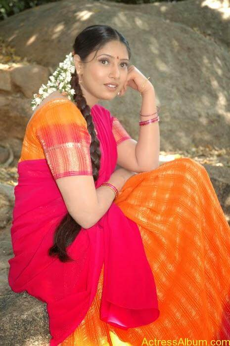 Sangavi Hot Pics In Sarees (34)