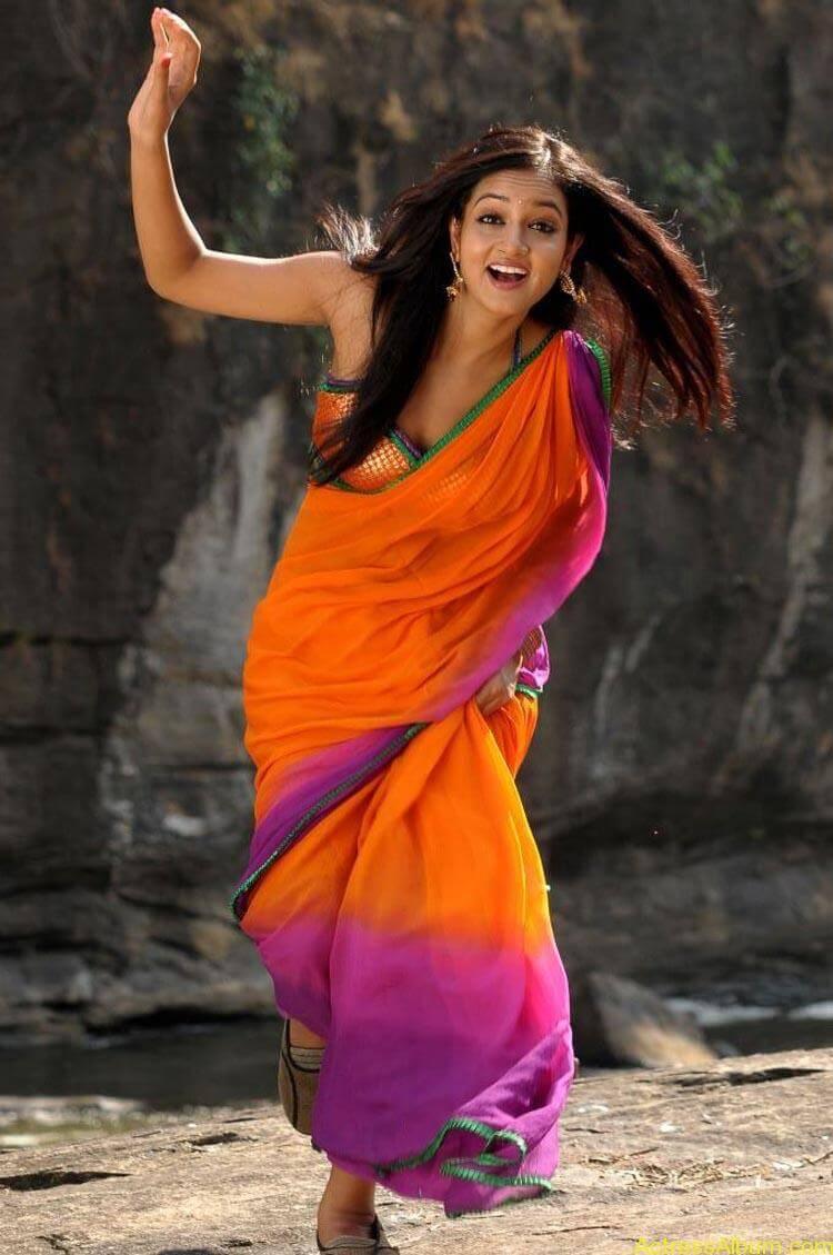 Shanvi-Hot-In-Saree-Stills- (6)