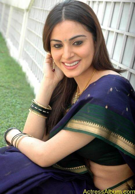 Shraddha Arya In Saree Stills (8)