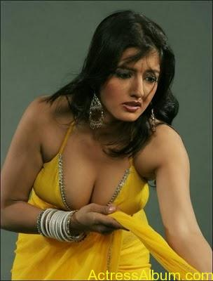 South Indian Masala Actress Cleavage and Navel Exposing Hot Gallery1