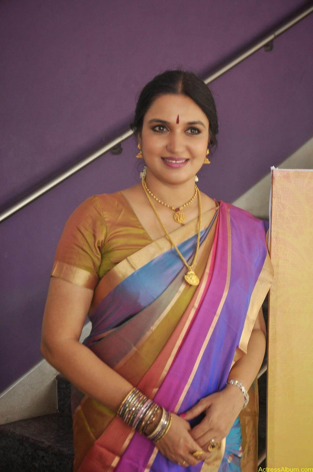 Sukanya Cute Saree Pics (7)