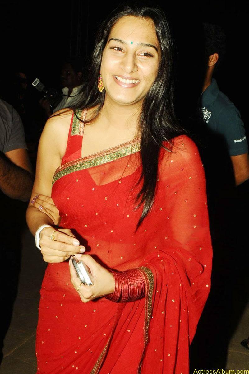 surekha-vani-hot-stills-in-red-saree (1)