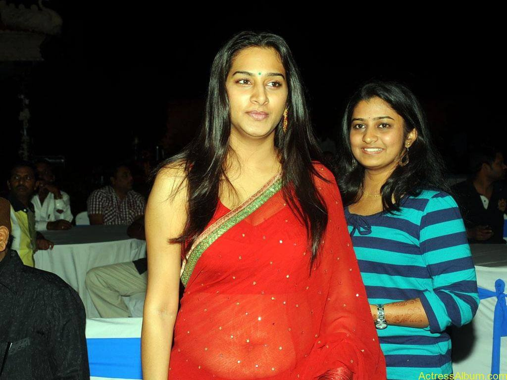 surekha-vani-hot-stills-in-red-saree (5)