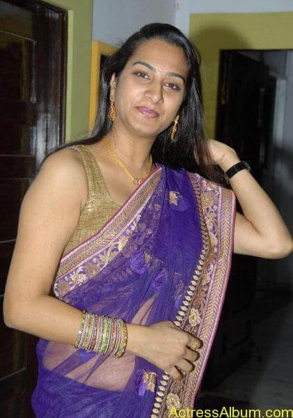 Surekha-Vani-hot-telugu-aunty-navel-show-in-saree (3)