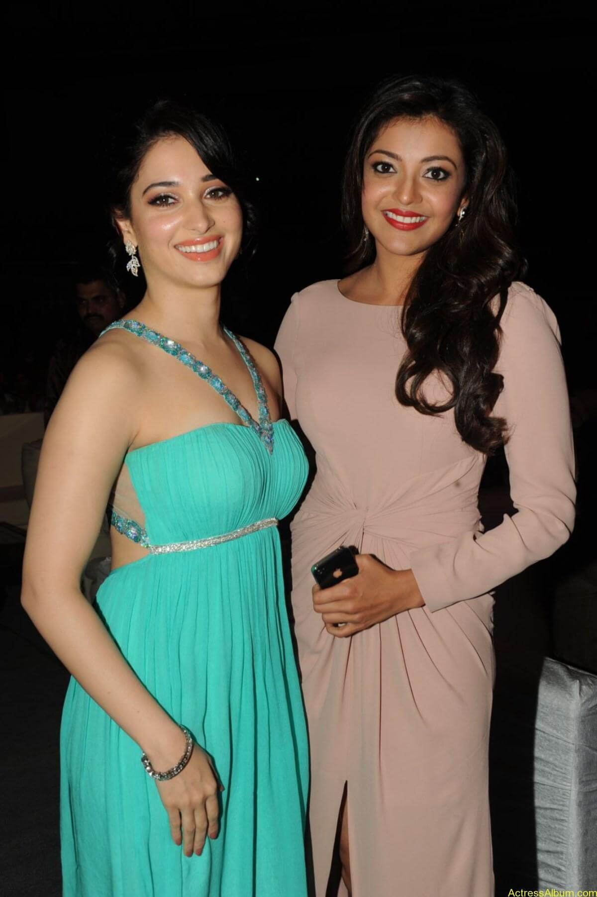Actress Tamanna and Kajal Agarwal latest hot Stills