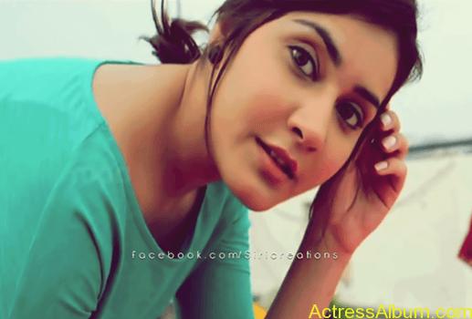 Actress Rashi Khanna Hot Dress Photos 9