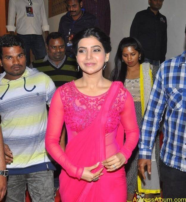 Actress Samantha Beautiful in Pink dress 6