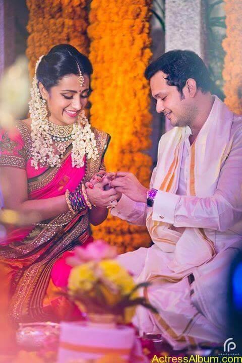 Actress Trisha Krishnan Engagement Pictures 1