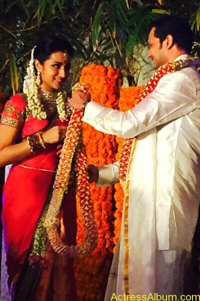 Actress Trisha Krishnan Engagement Pictures 10