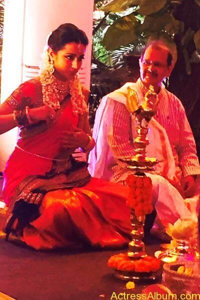 Actress Trisha Krishnan Engagement Pictures 12