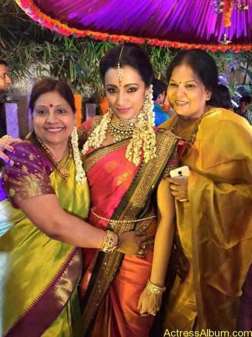 Actress Trisha Krishnan Engagement Pictures 16