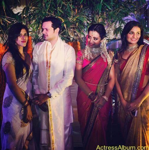 Actress Trisha Krishnan Engagement Pictures 6