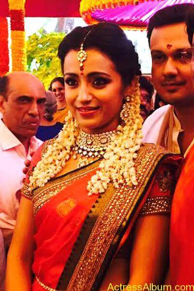 Actress Trisha Krishnan Engagement Pictures 9