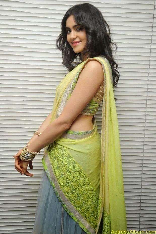 Adah Sharma hot in half saree stills (2)