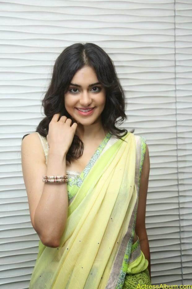 Adah Sharma hot in half saree stills (3)