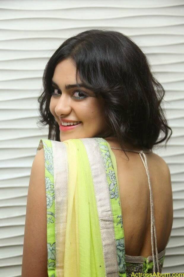 Adah Sharma hot in half saree stills (4)