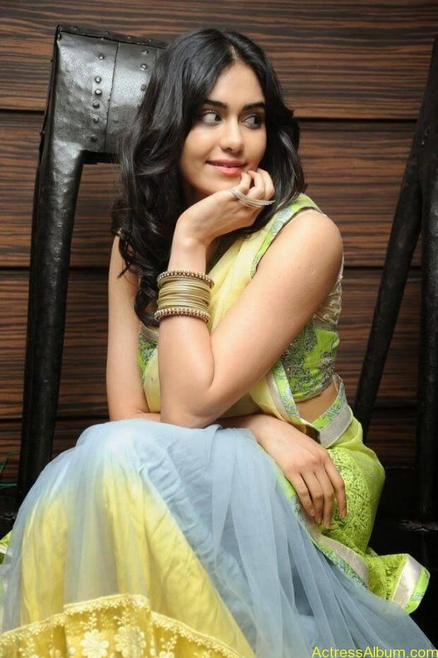 Adah Sharma hot in half saree stills (5)