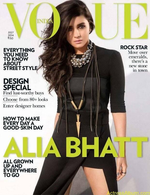 Alia Bhatt Hot  Photo Shoot for Vogue Magazine July 2014 (2)