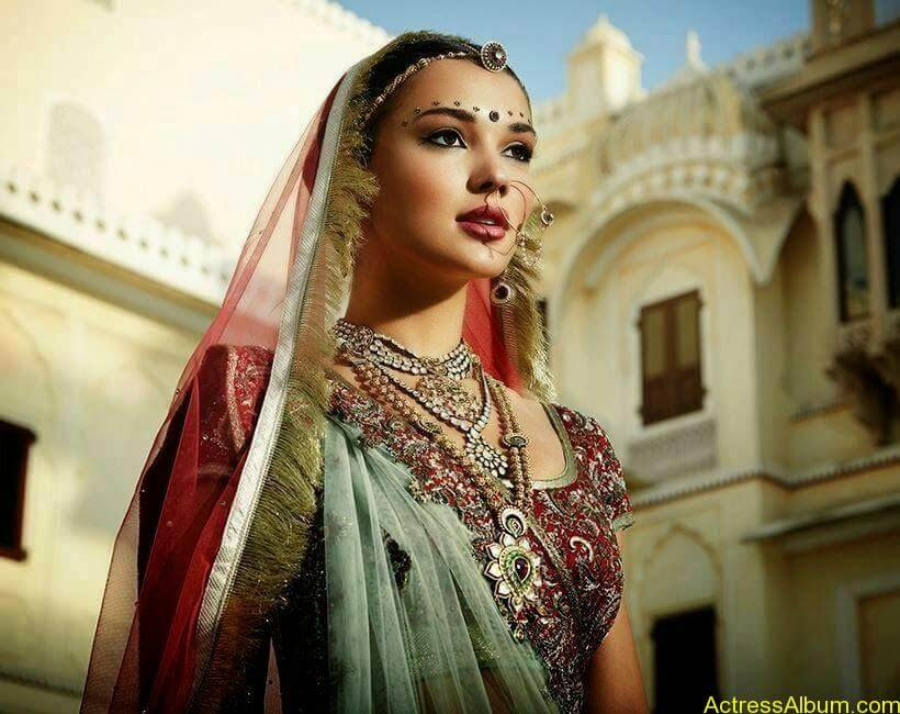 Amy Jackson Traditional Looks Gallery 2