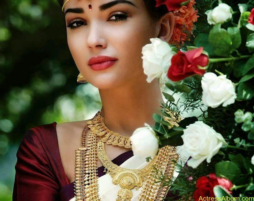 Amy Jackson Traditional Looks Gallery 6
