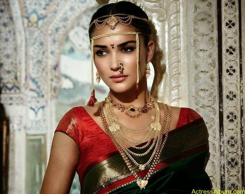 Amy Jackson Traditional Looks Gallery 9