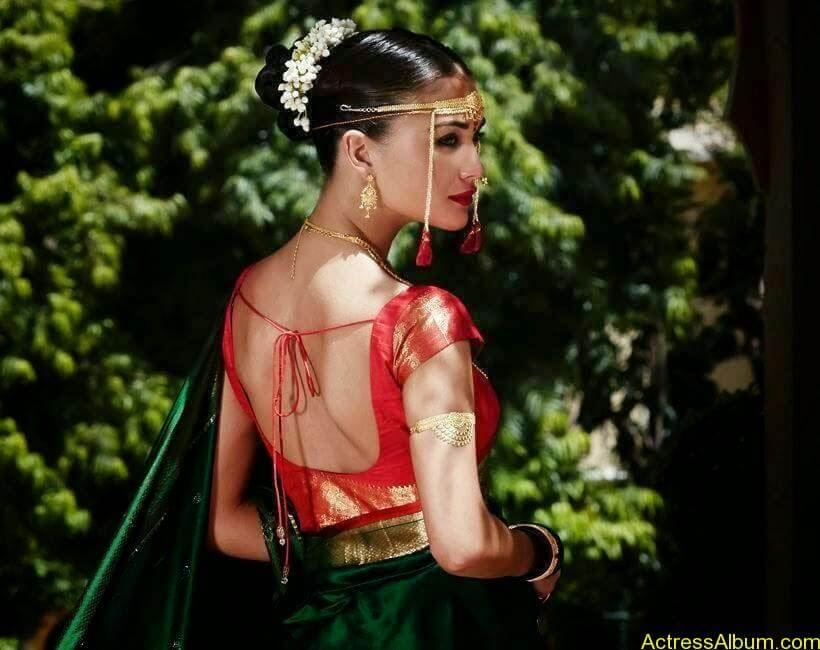 Amy Jackson Traditional Looks Gallery