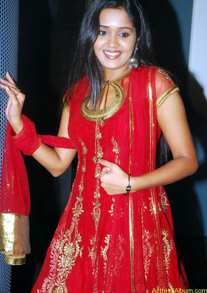 Ananya cute stills in red colour sudithar  (10)