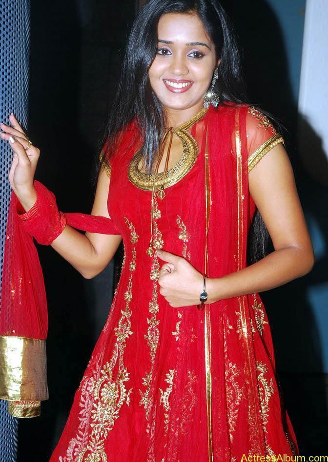 Ananya cute stills in red colour sudithar  (10)