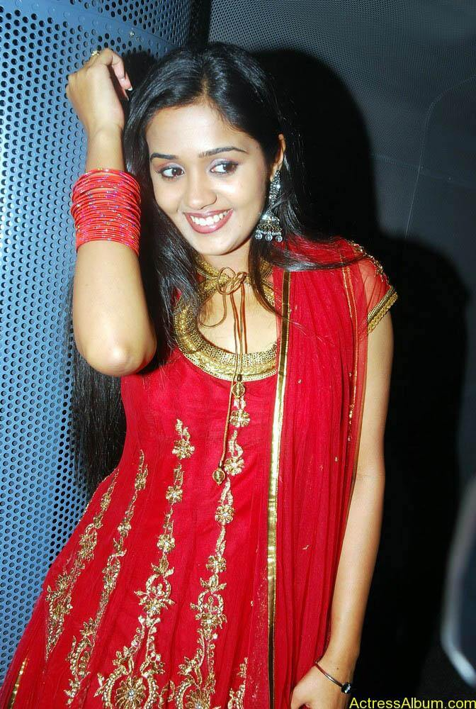 Ananya cute stills in red colour sudithar  (12)