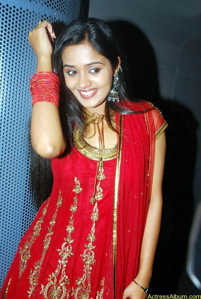Ananya cute stills in red colour sudithar  (12)