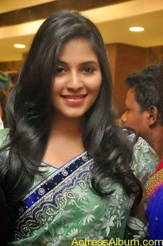 Anjali latest cute hot stills in saree (7)