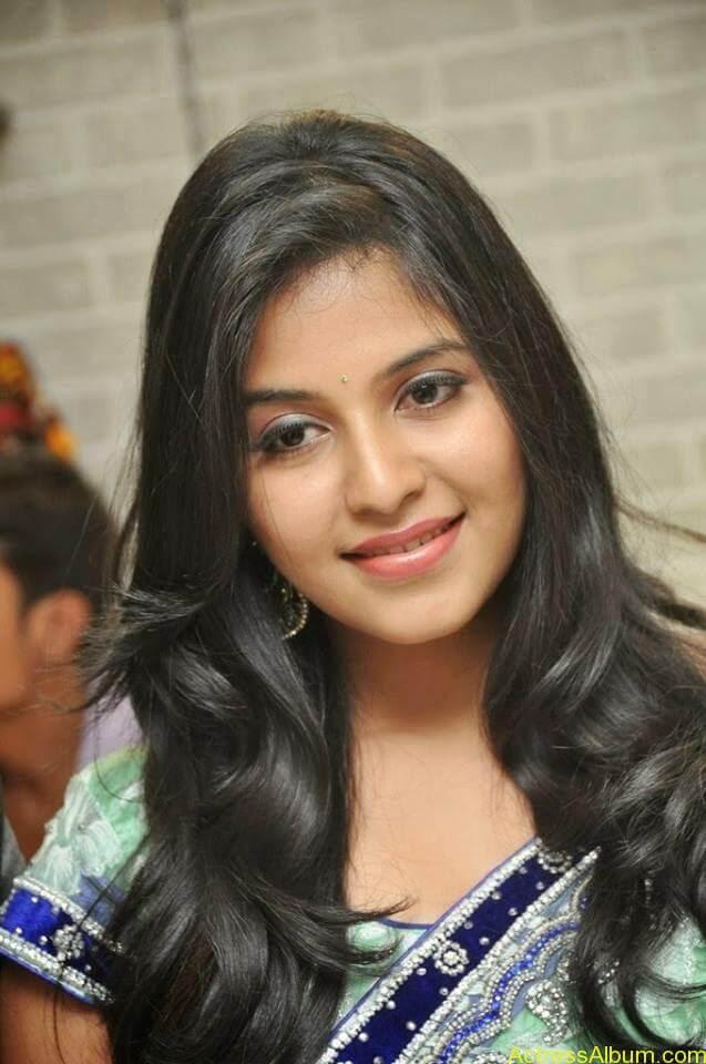 Anjali latest cute hot stills in saree (9)