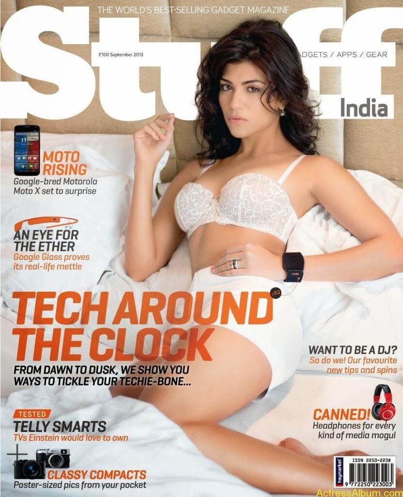 Archana Vijaya Hot Photoshoot Photos in Stuff Magazine 7
