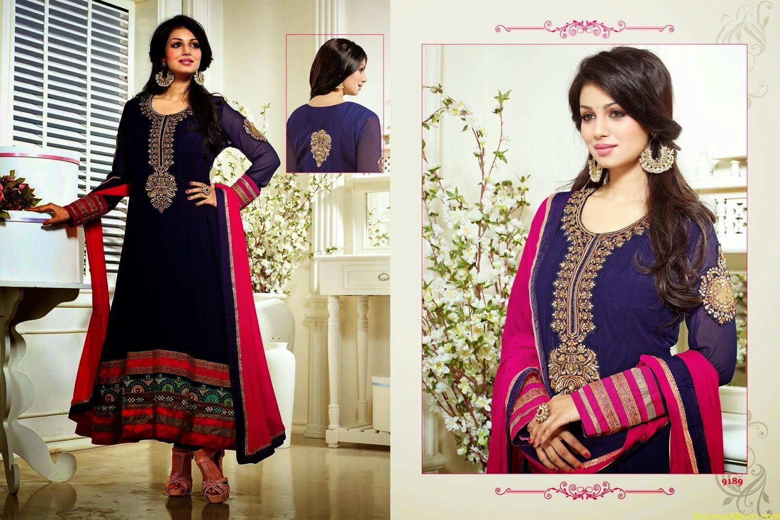 Ayesha Takia hot in SAVARA EMBROIDERY DRESS (1)
