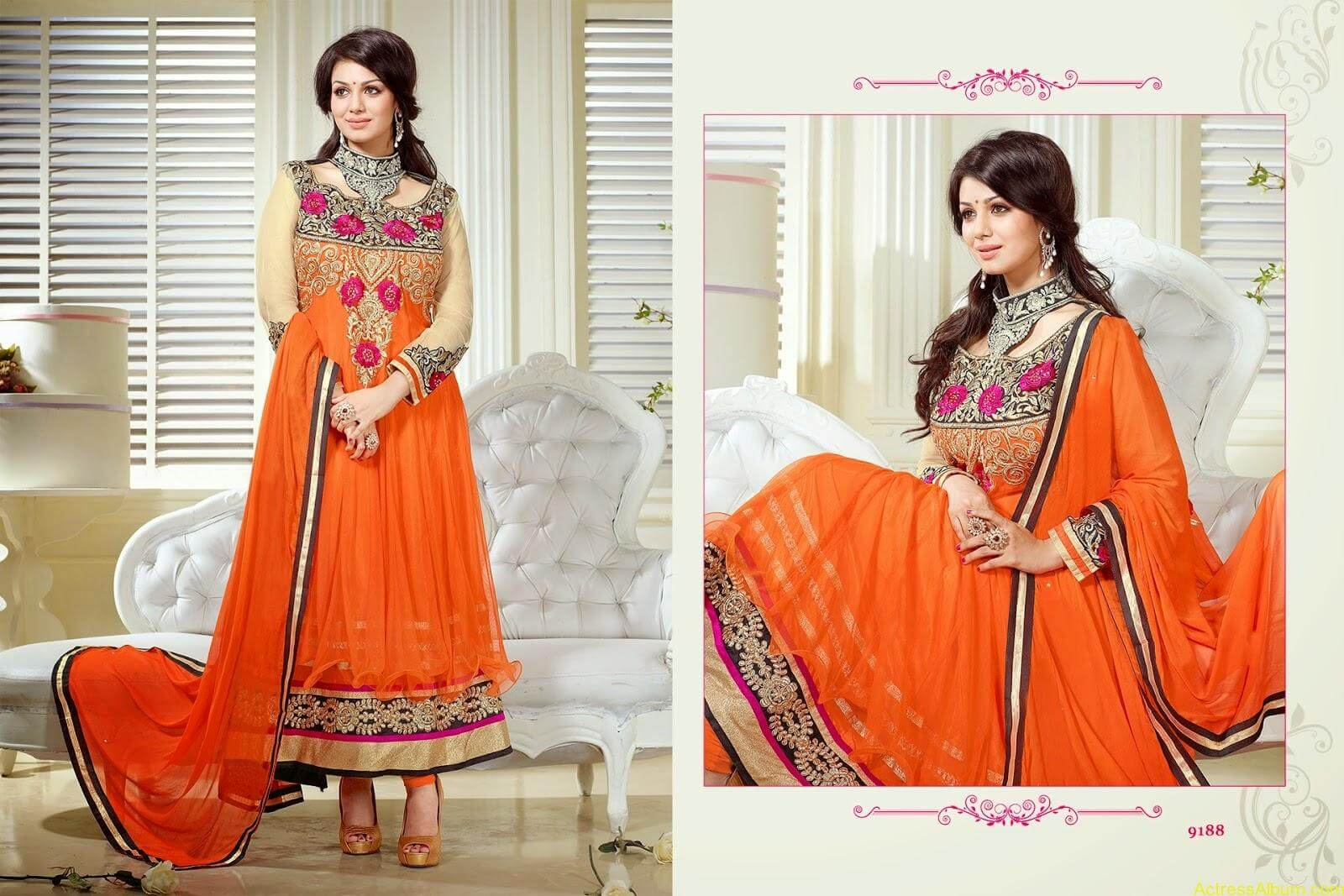 Ayesha Takia hot in SAVARA EMBROIDERY DRESS (10)