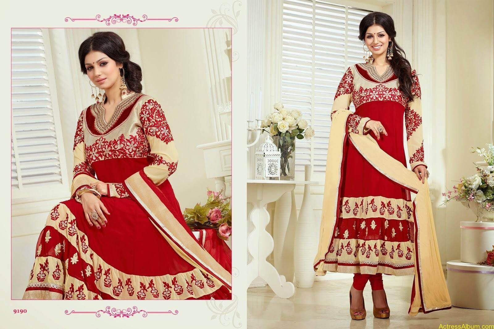 Ayesha Takia hot in SAVARA EMBROIDERY DRESS (2)