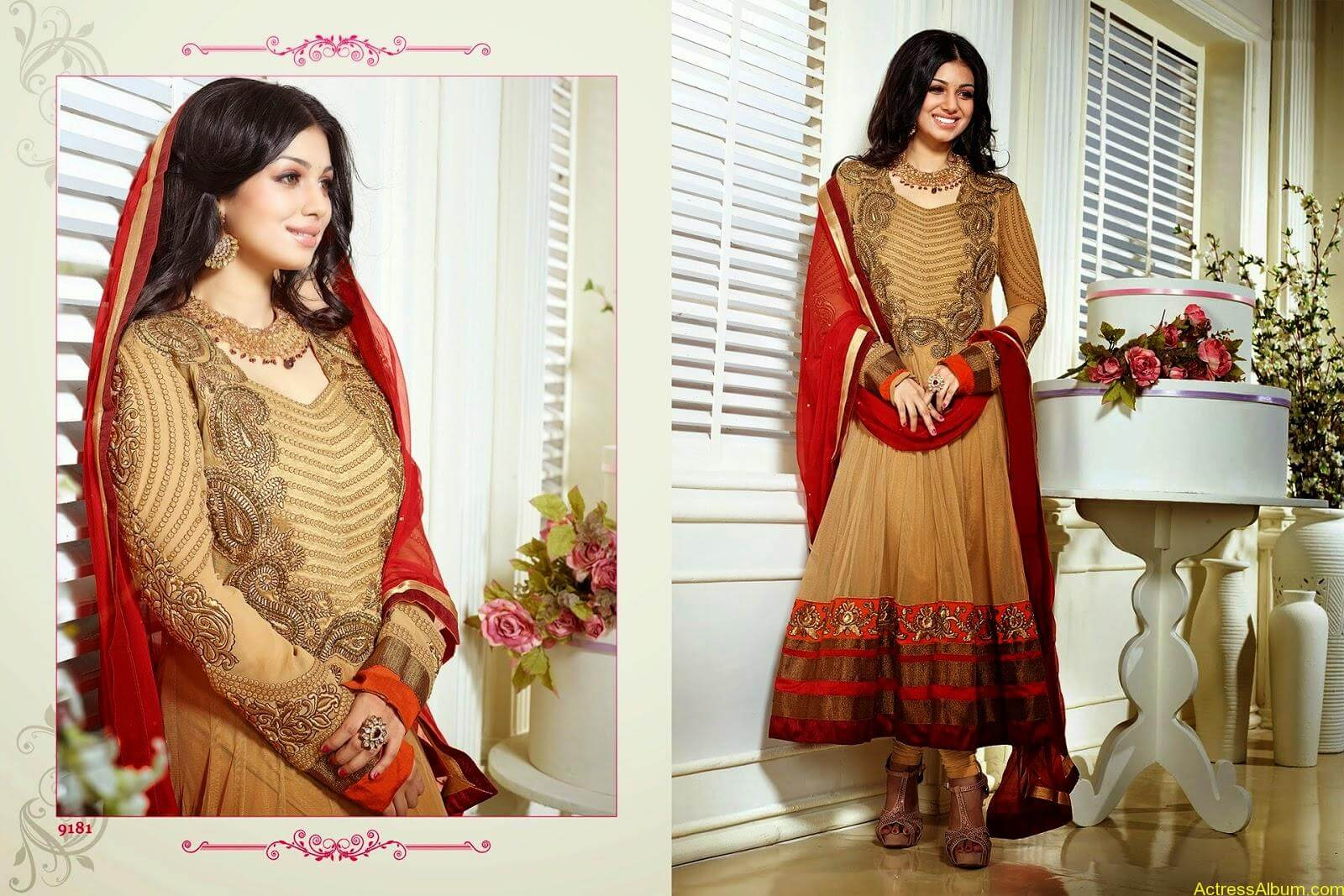 Ayesha Takia hot in SAVARA EMBROIDERY DRESS (3)